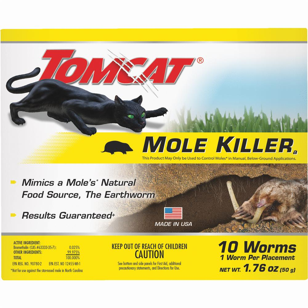 Tomcat Mole Killer, 10 Count