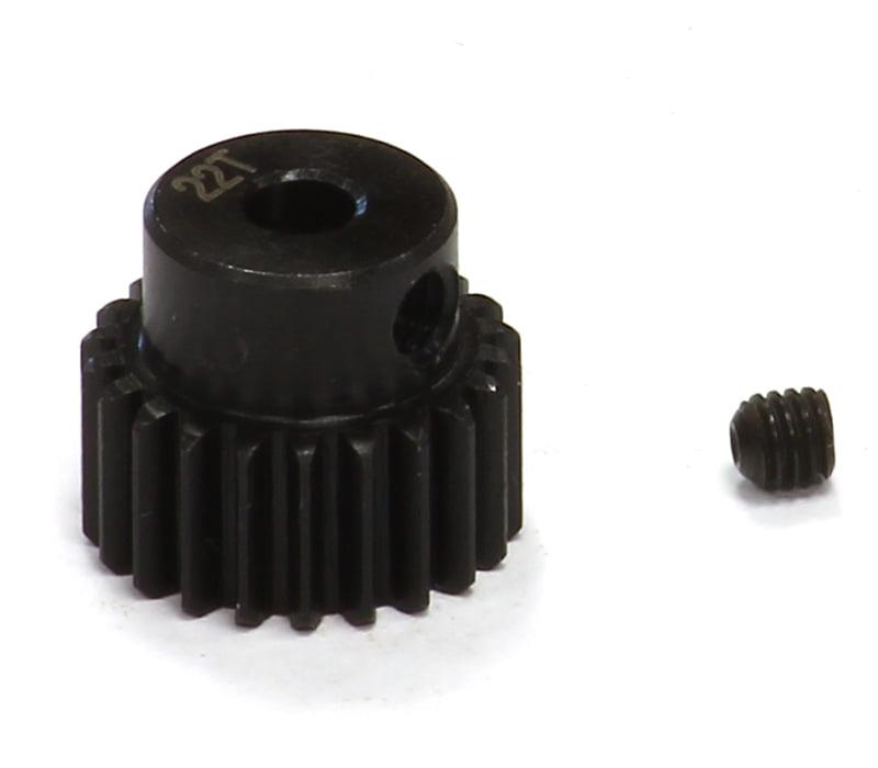 Integy RC Toy Model Hop-ups T3472 22T Steel Pinion Gear for 1 16 Traxxas E-Revo, Slash,... by Integy