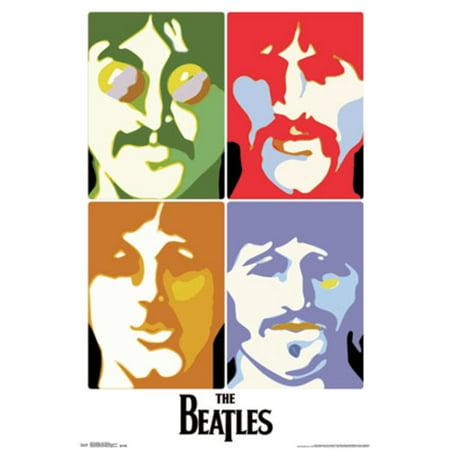 Beatles Sea Of Science Music Pop Art Poster 22X34 Inch