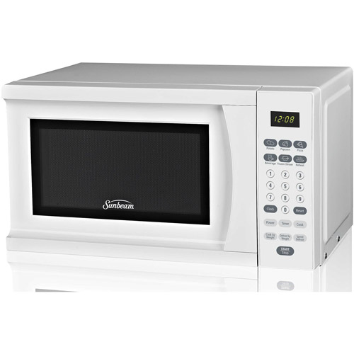 Sunbeam 0.7 cu ft Microwave Oven, White