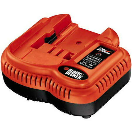 Black & Decker 9.6V-18V Multi Voltage Fast Charger, FSMVC