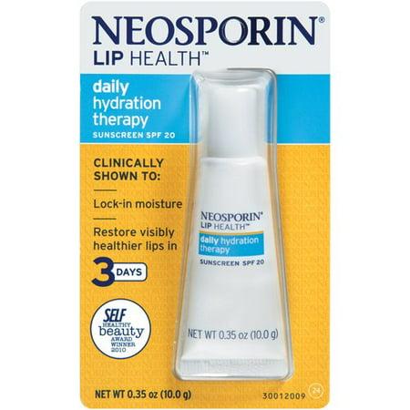Neosporin on lips