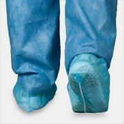 Tronex-Spunbond Shoe Covers, Blue, Unisize (Case of 300)