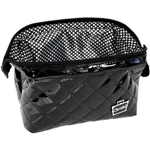 Caboodles Devotion Extra Wide-Opening Zip Clutch Cosmetic Bag