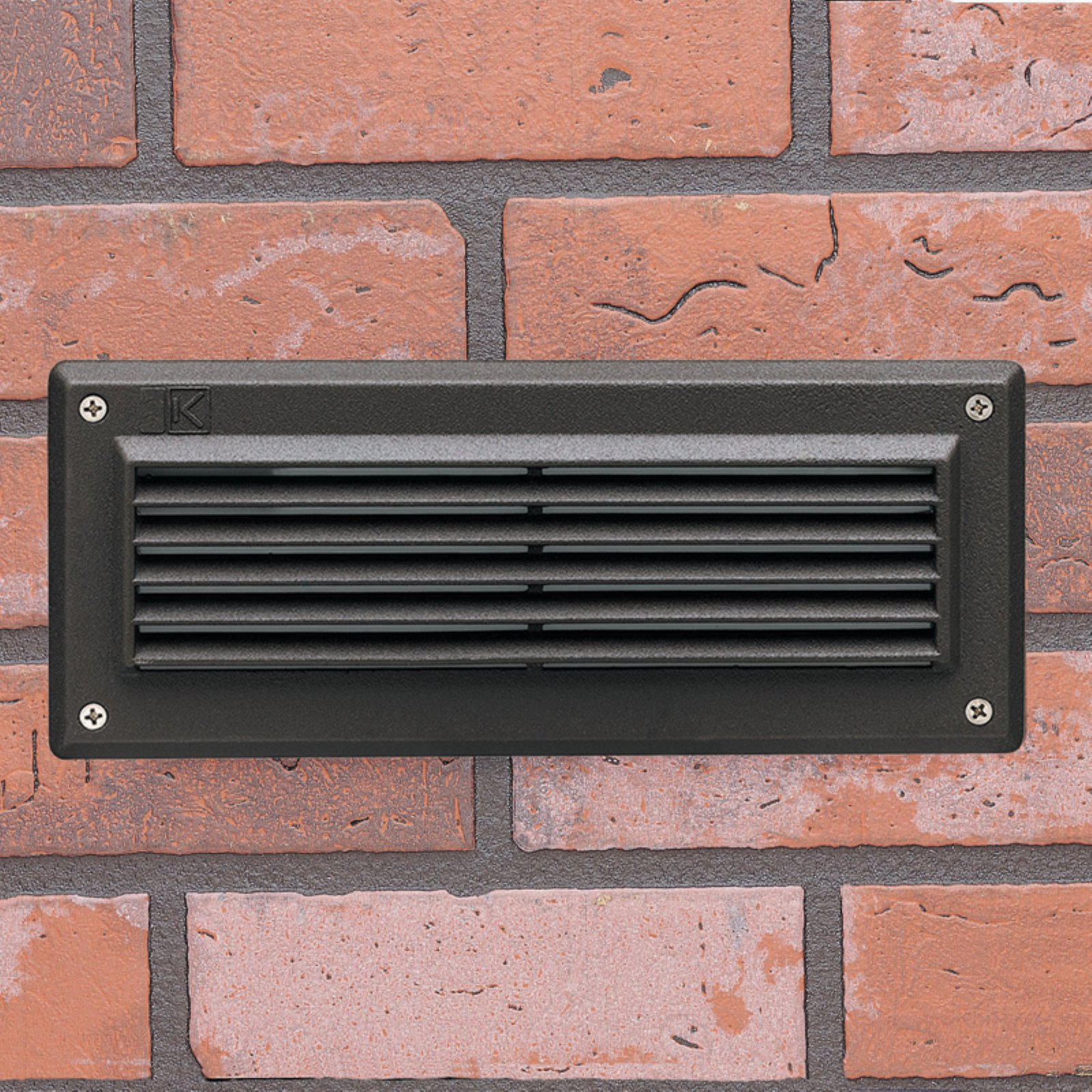 Kichler Recessed Brick Light with Louver