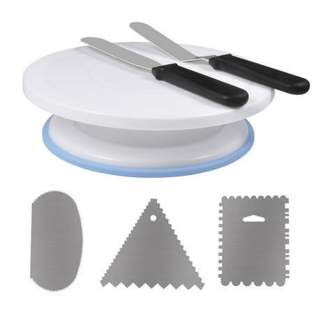 Yosoo Cake Decorating Turntable Rotating Cake Stand Baking Supplies with Decorating Sets, Baking Sets, Cake Decorating - Rotating Cake Stand