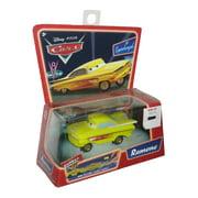 Disney Cars Movie Yellow Ramone Pullbax Motor Car w/ Lowrider Rockin