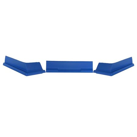 Dominator Race Products 409-BL 3 Piece Modified Valance Kit - Blue