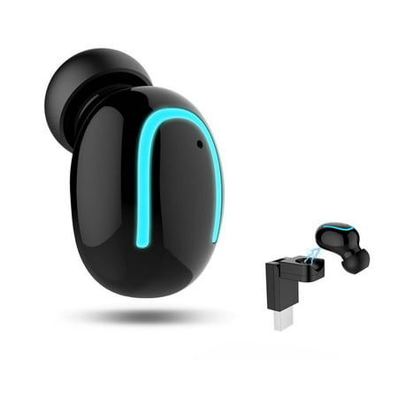 Black Friday Bluetooth Earbuds Bluetooth Headphones Wireless Earbuds Wireless Headphones Bluetooth Headset Mini Earbuds 4.1 Stereo Earphone Sport Headsets for All Bluetooth Devices (Black, 1 PCS)