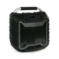 "EcoXGear EcoTrek 15.4"" x 10.2"" x 16.7"" Waterproof, Shockproof, Fully Submersible, 100 W Bluetooth EcoTrek Speaker"