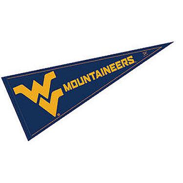 "West Virginia Mountaineers 12"" X 30"" Felt College Pennant"