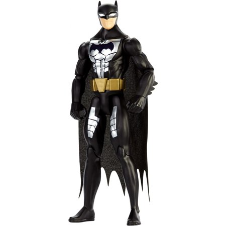 Justice League Action Steel Suit Batman Figure (Batman Suit)