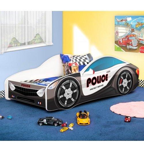 Zoomie Kids Grieco Kid Cop Police Twin Car Bed