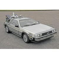 1981 DeLorean Back to the Future film car replica Print Wall Art