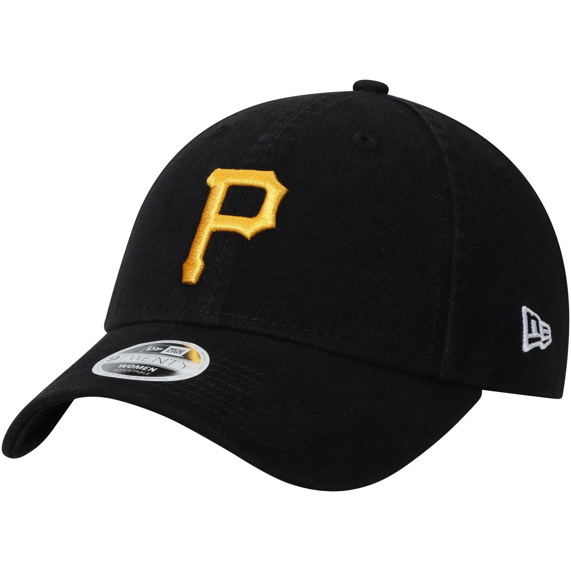 Pittsburgh Pirates New Era Women's Core Classic Twill Team Color 9TWENTY Adjustable Hat - Black - OSFA