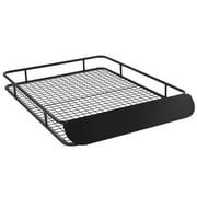 Apex RBC-6245HD Black X-Large Steel Roof Cargo Basket