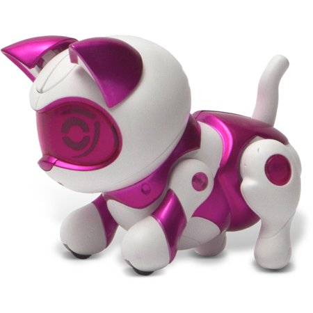 Tekno Robotic Pets  Newborn Kitty  Pink
