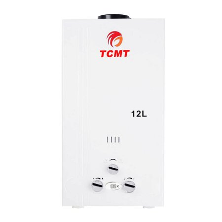 TCMT 3.2 GPM 12L Tankless Water Heater Natural Gas Instant Hot Boiler with Digital