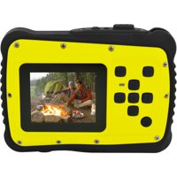 Coleman Yellow C6WP MiniXtreme HD Video Waterproof Digital Camera Kit