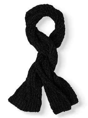 Time and Tru Chenille Knit Scarf