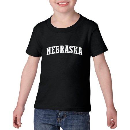 Party America Omaha Ne (Artix NE Nebraska Flag Omaha Map Cornhuskers Home of University of Nebraska  Heavy Cotton Toddler Kids T-Shirt Tee)