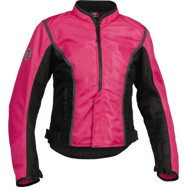 Firstgear Womens Contour Mesh Jacket Pink Black XS/X-Small FTJ.1308.07.W000