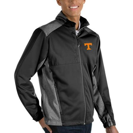 Tennessee Volunteers Antigua Big & Tall Revolve Full-Zip Jacket - Black Antigua Tennessee Volunteers Jacket