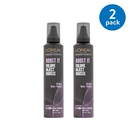 LOreal Paris Advanced Hairstyle BOOST IT Volume Inject Mousse, 8.3 Oz (Pack of 2)](Hairstyle Of The 50s)