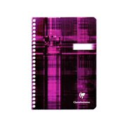Classic Wirebound Notebook with Pocket Dividers 6 in. x 8 1/4 in. (pack of 3)