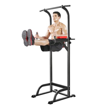 Ancheer 330lb Power Tower Pull Up Dip Station Chin Up Bar