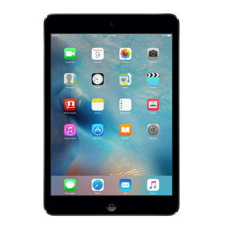 Refurbished Apple iPad Mini 2, 32GB, Space Gray, WiFi Only, 1 Year Warranty (IPADM2B32, ME277LL/A, ME281LL/A)