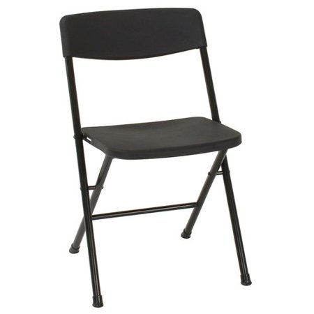 Amazing Cosco Resin Folding Chair 8 Pack With Molded Seat And Back Black Creativecarmelina Interior Chair Design Creativecarmelinacom