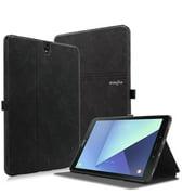 Galaxy Tab S3 9.7-Inch Case, Mignova Premium PU Leather Case Slim Folding Stand Folio Cover with Auto Wake/Sleep For Samsung Galaxy Tab S3 9.7-Inch SM-T820 / T825 2017 Release(Black)