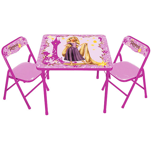 Disney - Tangled Rapunzel Activity Table and Chair Set  sc 1 st  Walmart & Disney - Tangled: Rapunzel Activity Table and Chair Set - Walmart.com