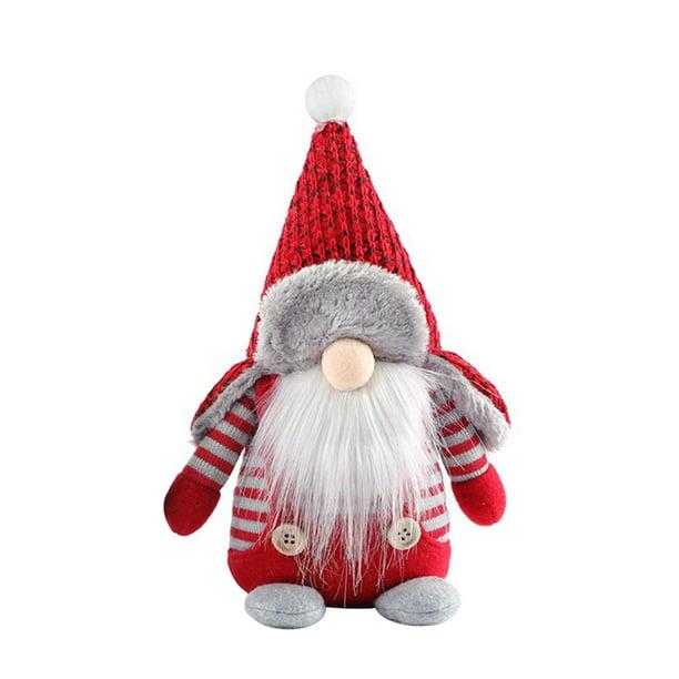 Details about  /Christmas Doll Decor Faceless Gnome Santa Claus Ornament Xmas Figurine Desk Gift