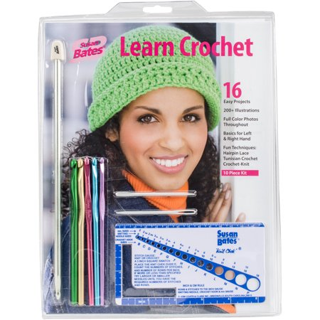 - Susan Bates Learn Crochet Kit