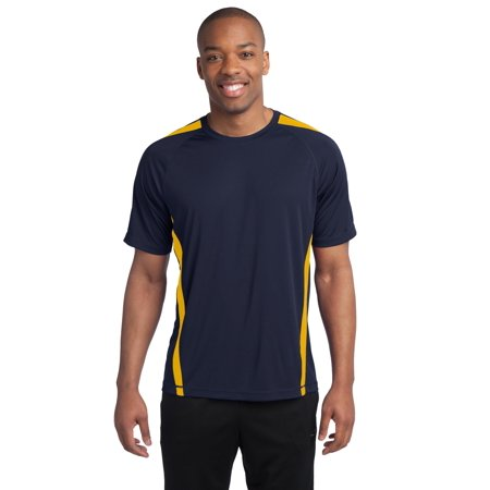 Sport-Tek® Colorblock Posicharge® Competitor™ Tee. St351 True Navy/ Gold 4Xl - image 1 de 1