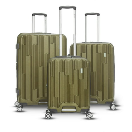 Avila Collection (Gabbiano Avila Collection 3 Piece Hardside Spinner Luggage Set )
