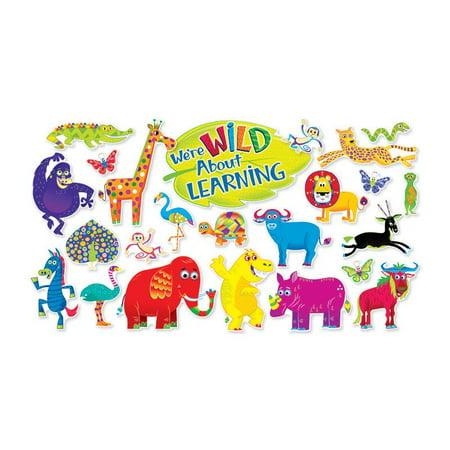 JINGLE JUNGLE ANIMALS BB SET (Jungle Bulletin Board)