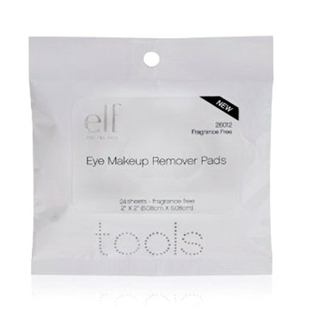 E L F  Eye Makeup Remover Pads  24 Ct