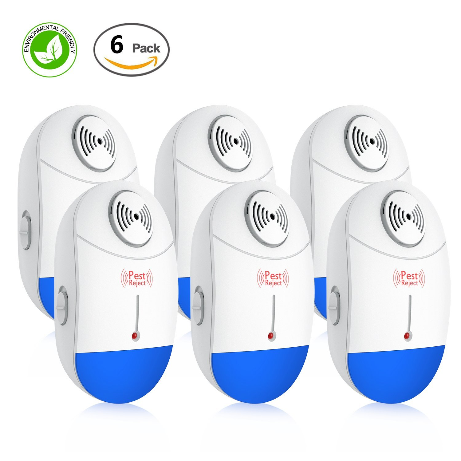 Mice Repellent Ultrasonic Pest Repeller - Electronic Pest Warrior Plug in Pest Control - Pest Reject for Indoor Mouse, Roach, Rodent, Insect, Ant, Bug, Spider, Rat - No More Roach killer & Mouse Trap