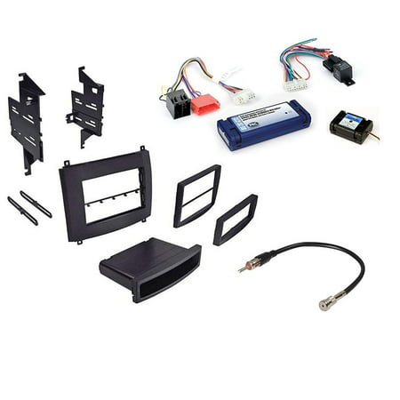 Cadillac Srx Dash - Car Radio Stereo Single Double Din Trim Dash Kit for 2003-2007 Cadillac SRX CTS W/Radio Interface
