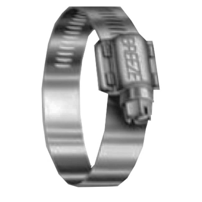 SAE Size 12 Worm-Drive 11//16 to 1-1//4 Diameter Range Pack of 10 Breeze Power-Seal Stainless Steel Hose Clamp 1//2 Bandwidth