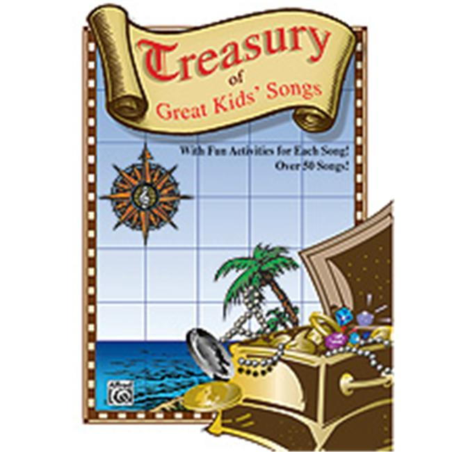 Alfred 00-BMR07012 Treasury of Great Kids Songs - Music Book