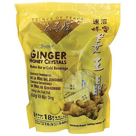 Prince of Peace® Instant Ginger Honey Crystals (30 Sachets)