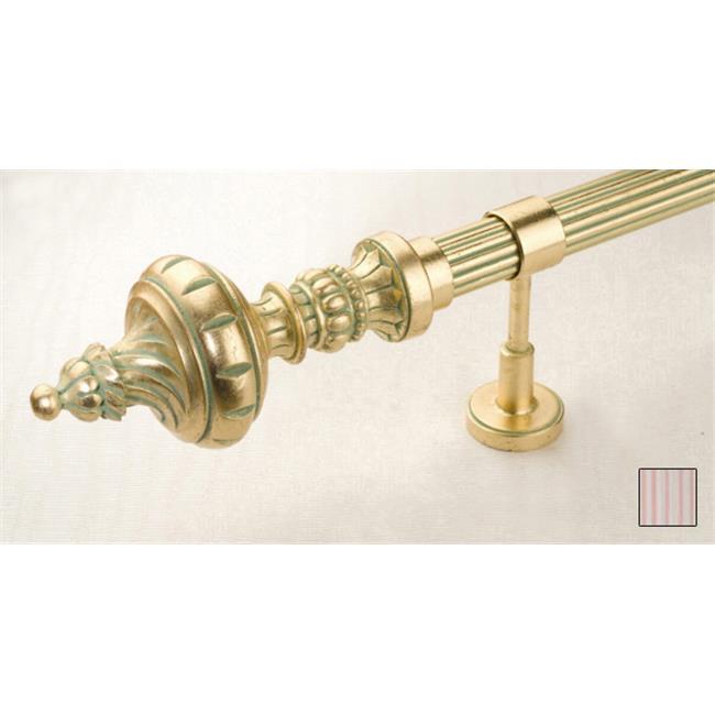 WinarT USA 8. 1098. 30. 34. 320 Palas 1098 Curtain Rod Set - 1. 25 inch - 126 inch