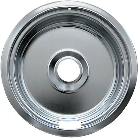 Range Kleen 1 Large Drip Bowl, Style F fits Canadian Plug-In Electric Ranges Camco/KitchenAid, Chrome (Pro Style Electric Range)