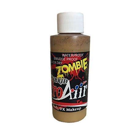ProAiir Hybrid Zombie Makeup - Rotted Flesh (2.1 oz)