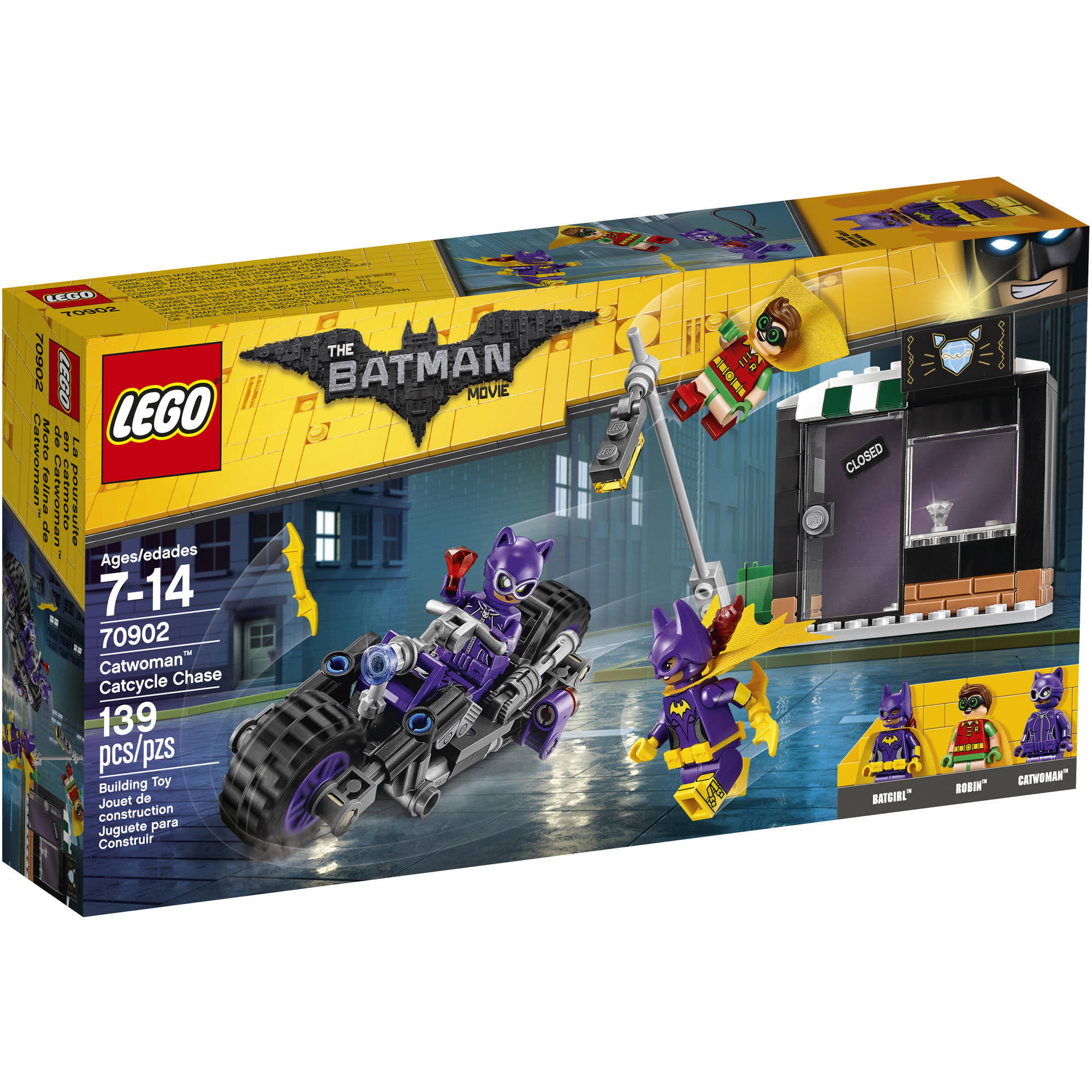 The Lego Batman Movie Catwoman Catcycle Chase (70902) by LEGO Systems Inc