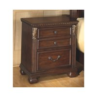 Signature Design by Ashley Leahlyn Warm Brown Nightstand